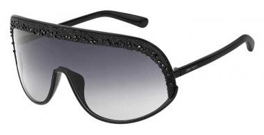 Sunglasses - Jimmy Choo - SIRYN/S - 807 (9O) BLACK // DARK GREY GRADIENT