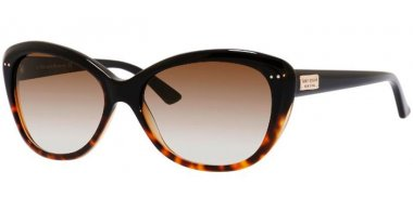 Sunglasses - Kate Spade - ANGELIQUE/S US - EUT (Y6) BLACK HAVANA // BROWN GRADIENT