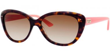 Sunglasses - Kate Spade - ANGELIQUE/S US - JUH (Y6) HAVANA PINK // BROWN GRADIENT