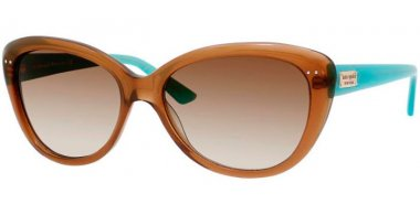 Sunglasses - Kate Spade - ANGELIQUE/S US - JVC (Y6) TRANSPARENT BROWN BLUE // BROWN GRADIENT