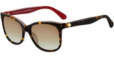 Sunglasses - Kate Spade - DANALYN/S - 086 (LA) DARK HAVANA // BROWN GRADIENT POLARIZED