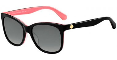 Sunglasses - Kate Spade - DANALYN/S - 3H2 (WJ) BLACK PINK // GREY GRADIENT POLARIZED
