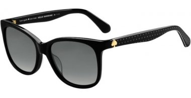 Sunglasses - Kate Spade - DANALYN/S - 807 (WJ) BLACK // GREY GRADIENT POLARIZED
