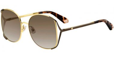 Lunettes de soleil - Kate Spade New York - EMYLEE/G/S - 086 (HA) GOLD DARK HAVANA // BROWN GRADIENT