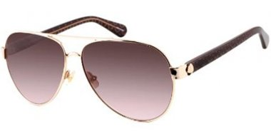 Sunglasses - Kate Spade - GENEVA/S - 09Q (HA) GOLD BROWN // BROWN GRADIENT