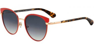 Sunglasses - Kate Spade - JANALEE/S - 0UC (9O) RED HAVANA // DARK GREY GRADIENT
