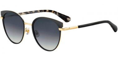 Sunglasses - Kate Spade - JANALEE/S - 807 (9O) BLACK // DARK GREY GRADIENT
