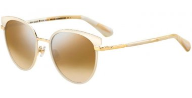 Sunglasses - Kate Spade - JANALEE/S - FWM (NQ) NUDE // BROWN SILVER MIRROR
