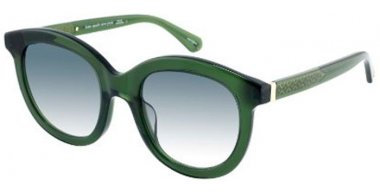 Sunglasses - Kate Spade - LILLIAN/G/S - 0OX (9K) CRYSTAL GREEN // GREEN GRADIENT