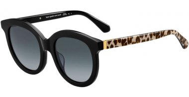 Sunglasses - Kate Spade New York - LILLIAN/G/S - FP3 (9O) BLACK GOLD LEOPARD // DARK GREY GRADIENT