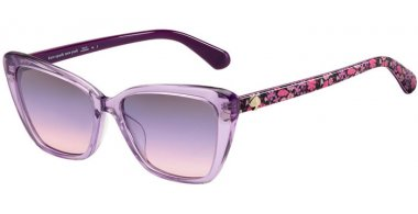 Sunglasses - Kate Spade New York - LUCCA/G/S - 789 (I4) LILAC // BLUE PEACH GRADIENT