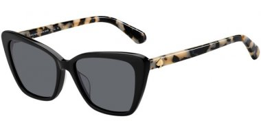 Sunglasses - Kate Spade New York - LUCCA/G/S - 807 (M9) BLACK // GREY POLARIZED