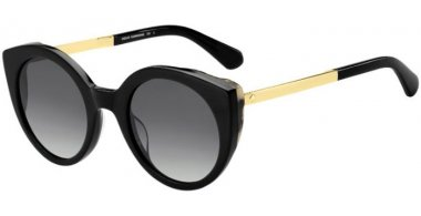 Sunglasses - Kate Spade - NORINA/S - 807 (9O) BLACK // DARK GREY GRADIENT