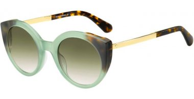Sunglasses - Kate Spade - NORINA/S - XGW (9K) GREEN HAVANA // GREEN GRADIENT
