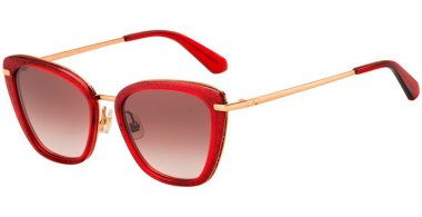 Sunglasses - Kate Spade New York - THELMA/G/S - C9A (HA) RED // BROWN GRADIENT