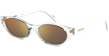 Sunglasses - Levi's - LV 1003/S - 900 (SQ) CRYSTAL // GOLD MULTILAYER