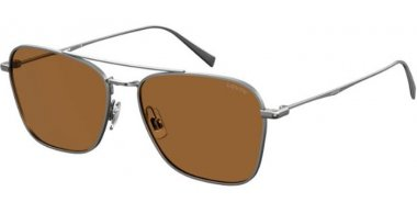 Sunglasses - Levi's - LV 5001/S - 6LB (70) RUTHENIUM // BROWN