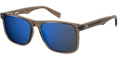 Sunglasses - Levi's - LV 5004/S - 79U (XT) MUD // BLUE SKY MIRROR