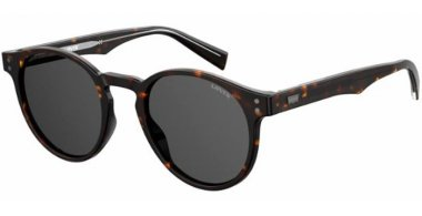 Sunglasses - Levi's - LV 5005/S - 086 (IR) DARK HAVANA // GREY