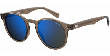 Sunglasses - Levi's - LV 5005/S - 79U (XT) MUD // BLUE SKY MIRROR