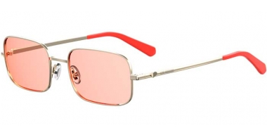 Sunglasses - Love Moschino - MOL012/S - 1N5 (U1) GOLD CORAL // PINK