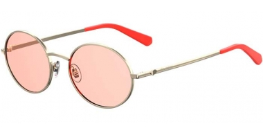 Sunglasses - Love Moschino - MOL013/S - 1N5 (U1) GOLD CORAL // PINK