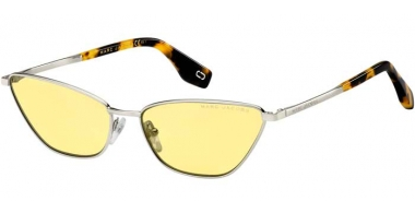 Sunglasses - Marc Jacobs - MARC 369/S - 40G (HO) SILVER // YELLOW