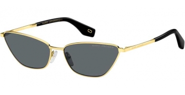 Sunglasses - Marc Jacobs - MARC 369/S - 807 (IR) GOLD // GREEN