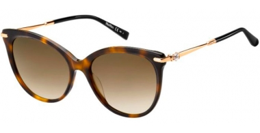 Sunglasses - MaxMara - MM SHINE II - 086 (HA) DARK HAVANA // BROWN GRADIENT