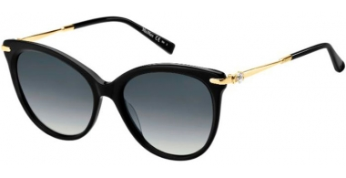 Sunglasses - MaxMara - MM SHINE II - 807 (9O) BLACK // GREY GRADIENT