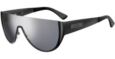 Sunglasses - Moschino - MOS062/S - V81 (T4) DARK RUTHENIUM BLACK // SILVER MIRROR