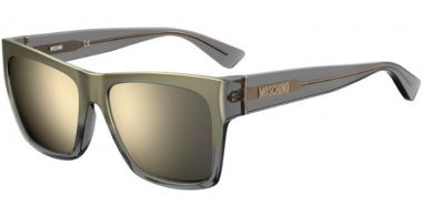 Sunglasses - Moschino - MOS064/S - KB7 (UE) GREY // GREY IVORY MIRROR