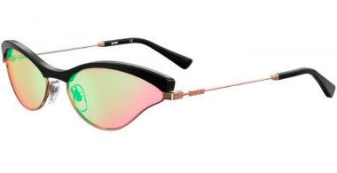 Sunglasses - Moschino - MOS067/S - 35J (MT) PINK // GREEN MIRROR