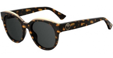 Sunglasses - Moschino - MOS033/S - 086 (IR) DARK HAVANA  // GREY