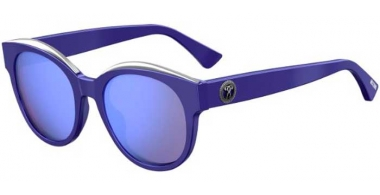 Sunglasses - Moschino - MOS033/S - PJP (35) BLUE // LILAC MULTILAYER BLUE