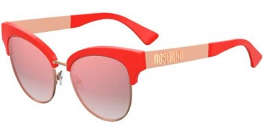Sunglasses - Moschino - MOS038/S - 1N5 (VQ) CORAL // PINK MULTILAYER