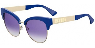 Sunglasses - Moschino - MOS038/S - PJP (DG) BLUE // GREY GRADIENT