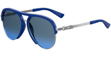 Sunglasses - Moschino - MOS041/S - PJP (GB) BLUE // GREY AZURE GRADIENT
