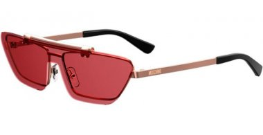 Sunglasses - Moschino - MOS048/S - DDB (4S) GOLD COPPER // BURGUNDY