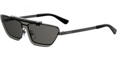 Sunglasses - Moschino - MOS048/S - KJ1 (IR) DARK RUTHENIUM // GREY