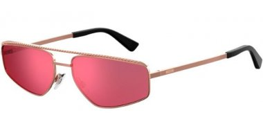 Sunglasses - Moschino - MOS053/S - DDB (ZK) GOLD COPPER // RED ANTIREFLECTION