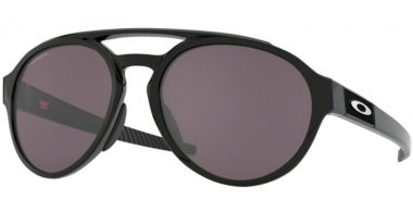 Sunglasses - Oakley - FORAGER OO9421 - 9421-01 POLISHED BLACK // PRIZM GREY