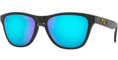 Frames Junior - Oakley Junior - FROGSKINS XS OJ9006 - 9006-13 POLISHED BLACK // PRIZM SAPPHIRE