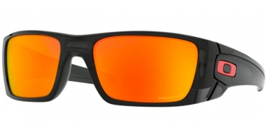 Sunglasses - Oakley - FUEL CELL OO9096 - 9096-K0 BLACK INK // PRIZM RUBY POLARIZED