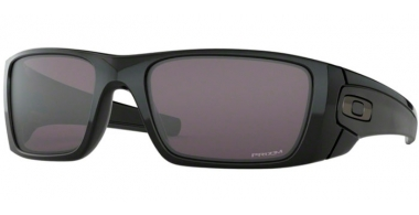 Sunglasses - Oakley - FUEL CELL OO9096 - 9096-K2 POLISHED BLACK // PRIZM GREY