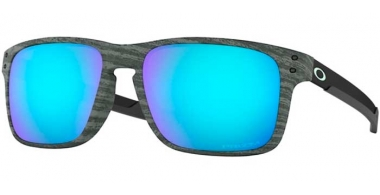 Sunglasses - Oakley - HOLBROOK MIX OO9384 - 9384-12 FROSTWOOD // PRIZM SAPPHIRE