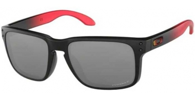 Sunglasses - Oakley - HOLBROOK OO9102 - 9102-D3 RUBY FADE // PRIZM BLACK POLARIZED