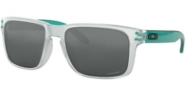 Sunglasses - Oakley - HOLBROOK OO9102 - 9102-H6 CRYSTAL CLEAR // PRIZM BLACK