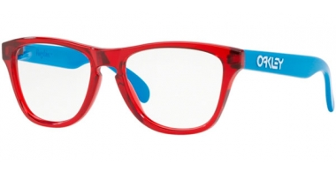 Lunettes Junior - Oakley Junior - OY8009 FROGSKINS XS - 8009-02 TRANSLUCENT RED