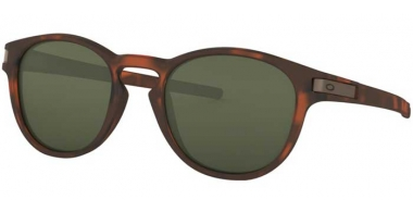 Sunglasses - Oakley - LATCH OO9265 - 9265-02 MATTE BROWN TORTOISE // DARK GREY